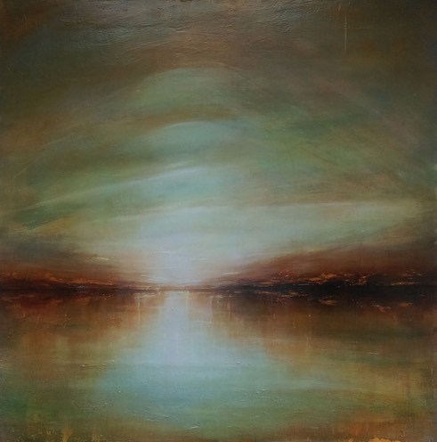 Early Light 122 x 122 cm