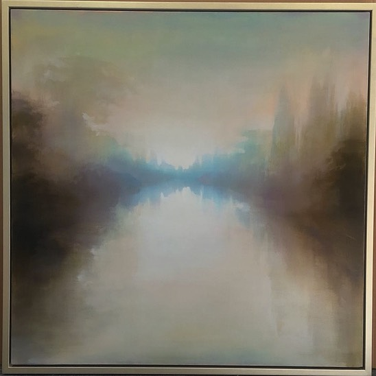 Quiet Light  104 x 104 cm